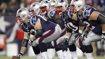 Medium new england patriots offensive line